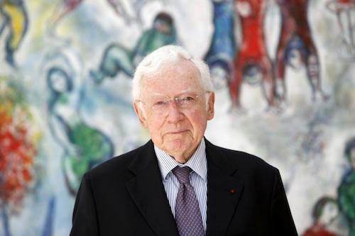 Adrien Maeght, parrain de la Première Boucle Historique de Saint-Paul de Vence