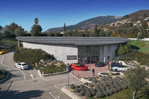 Car Museum Club, départ de la Première Boucle Historique de Saint-Paul de Vence